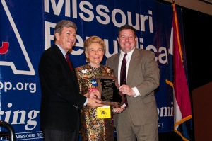 Roy Blunt, Phyllis Schlafly, Ed Martin