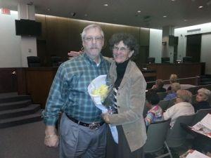 Bruce Buwalda and Peggy Adams
