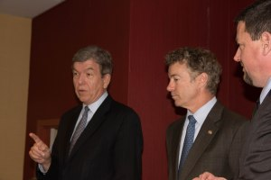 Roy Blunt, Rand Paul, Ed Martin