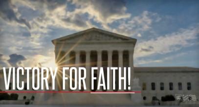 Victory for Faith
